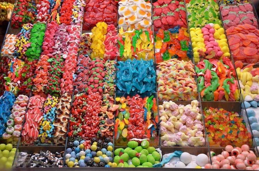 varieties of candy